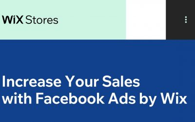 Do It Yourself – Tutorials – Increase Your Sales with Facebook Ads by Wix | Wix.com
