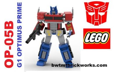 Do It Yourself – Tutorials – Lego Transformers OP-05B G1 Optimus Prime by BWTMT Brickworks
