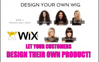 "Do It Yourself – Tutorials – Let your customers ""DESIGN YOUR OWN PRODUCT"" in wix websites"
