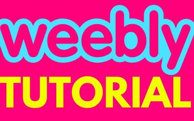 Do It Yourself – Tutorials – Weebly Tutorial – How to Build a Website with Weebly (2017)