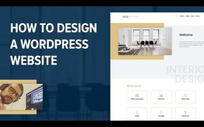 How to Make A WordPress Website With Elementor