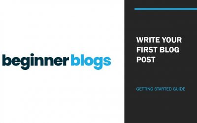 Video 11 – Write your first WordPress Blog Post