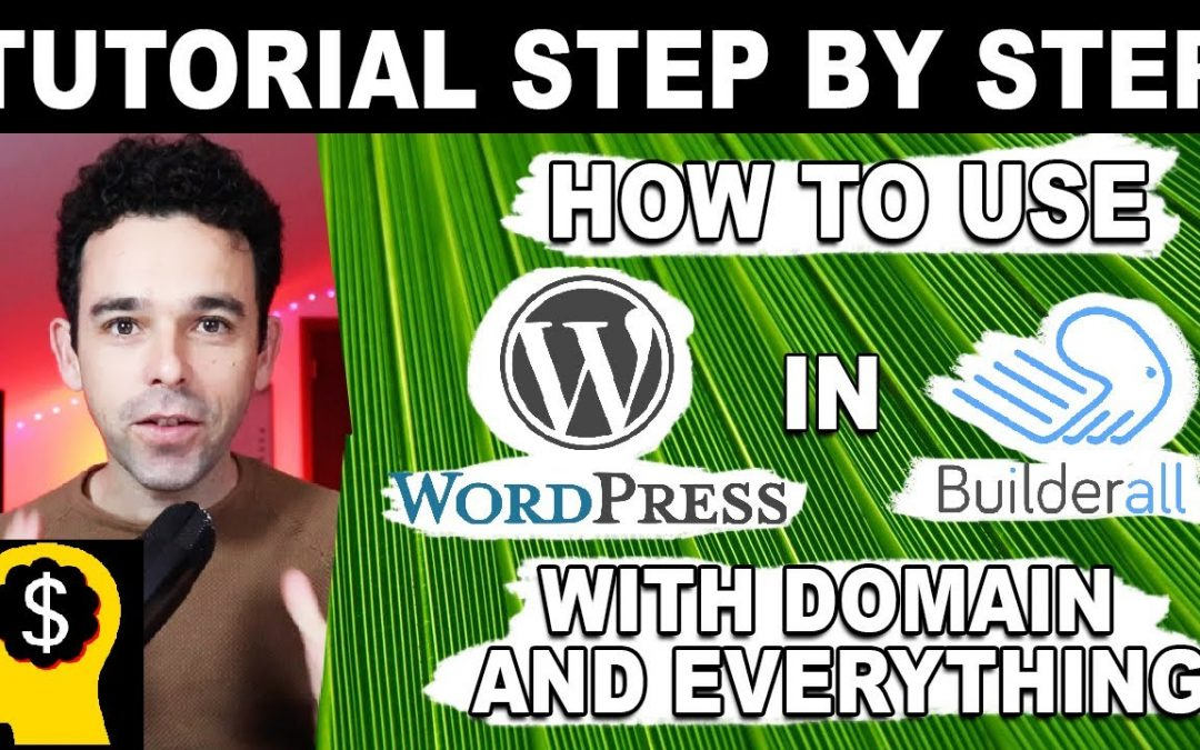 WordPress For Beginners – How WordPress Works Step-By-Step in Builderall