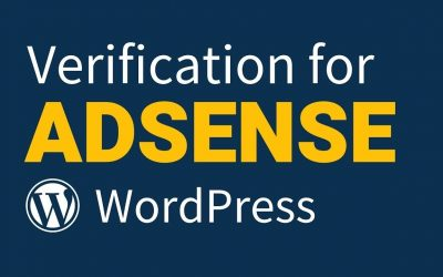 WordPress For Beginners – How to Add Adsense Verification Code to WordPress Site (2020)