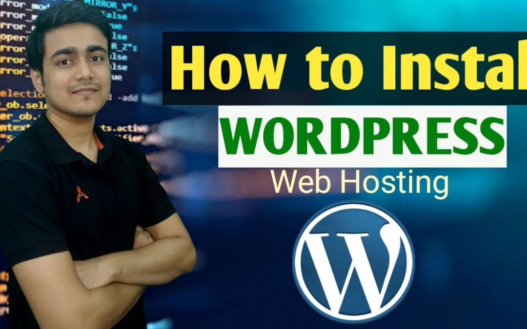 WordPress For Beginners – How to Install WordPress in cpanel of Resellerclub Hosting | WordPress Tutorial in Hindi | Part 1