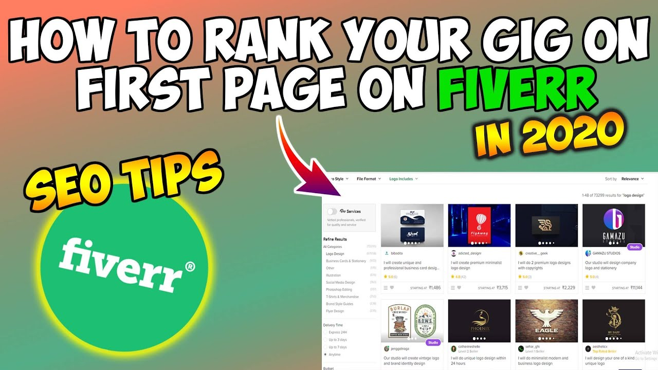 How To Rank Your Gig On First Page On Fiverr In 2020 | SEO TIPS