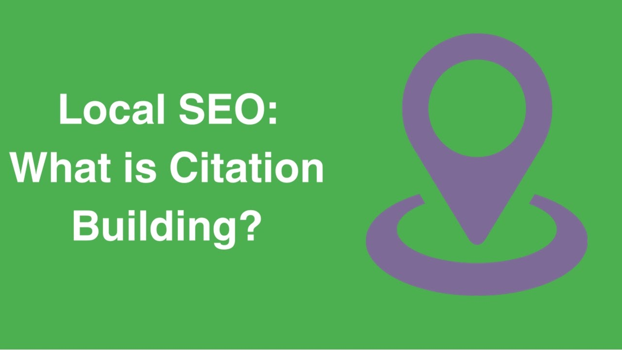 Local SEO: What is Citation Building?
