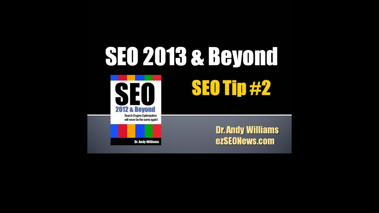 SEO Tip #2 - Don't Publish Fluffy Content