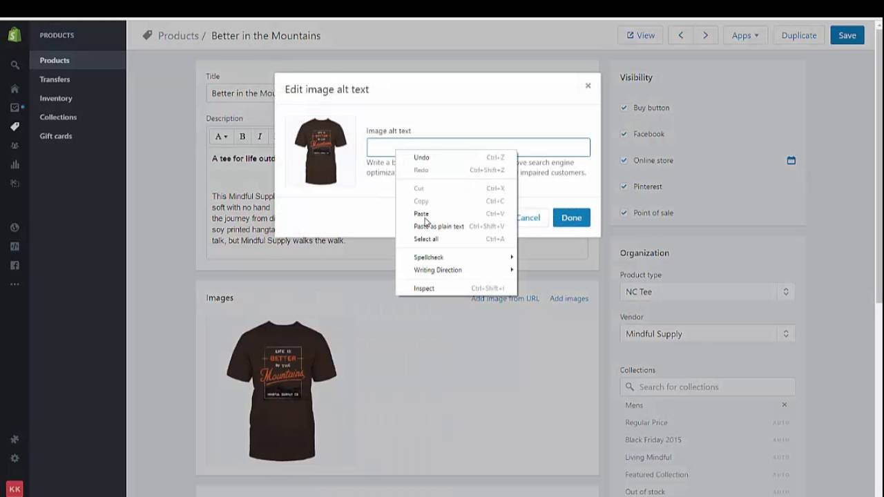 SEO Your Products for Shopify  Step 1