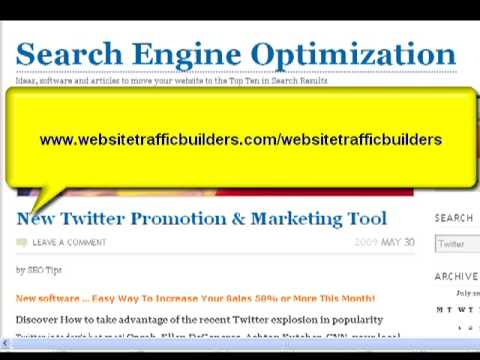 Search Engine Optimization Software