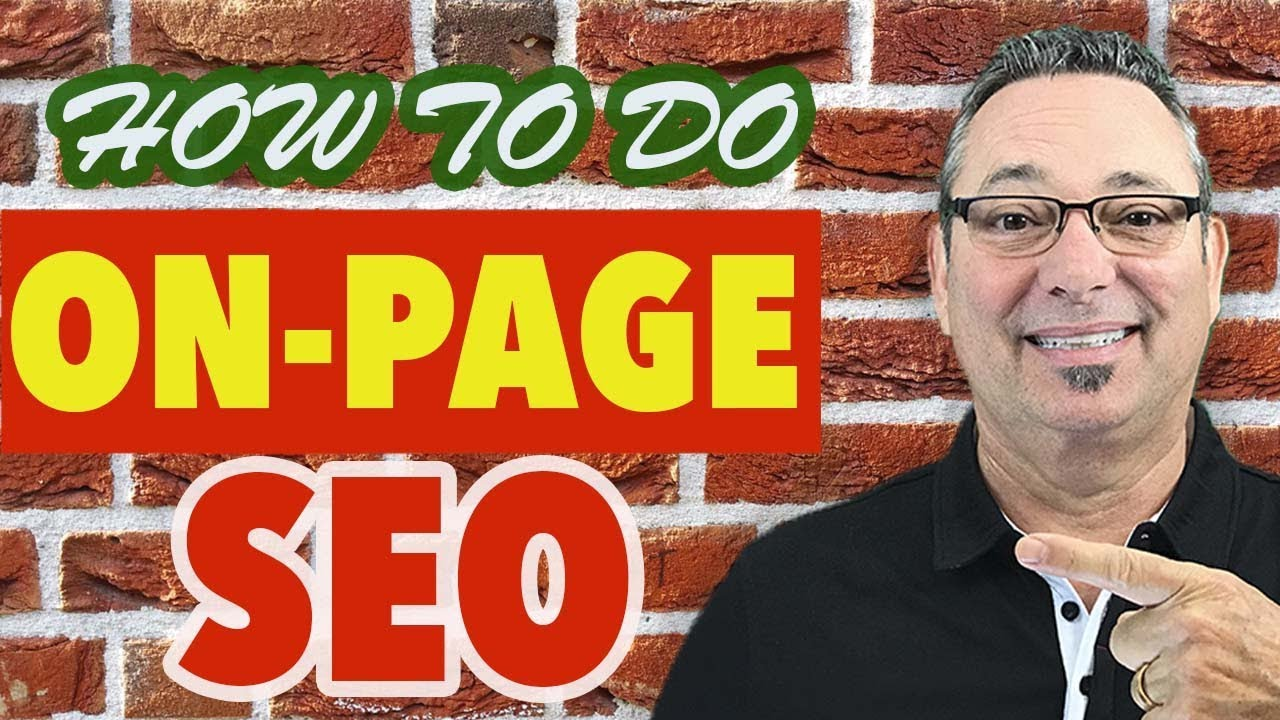Training on how to do on page search engine optimization with J.R. Fisher