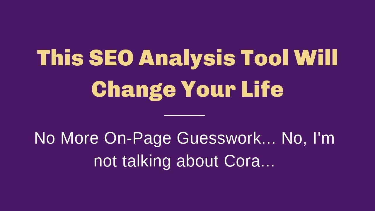 Ultimate Secret Weapon for On-Page SEO - Surfer