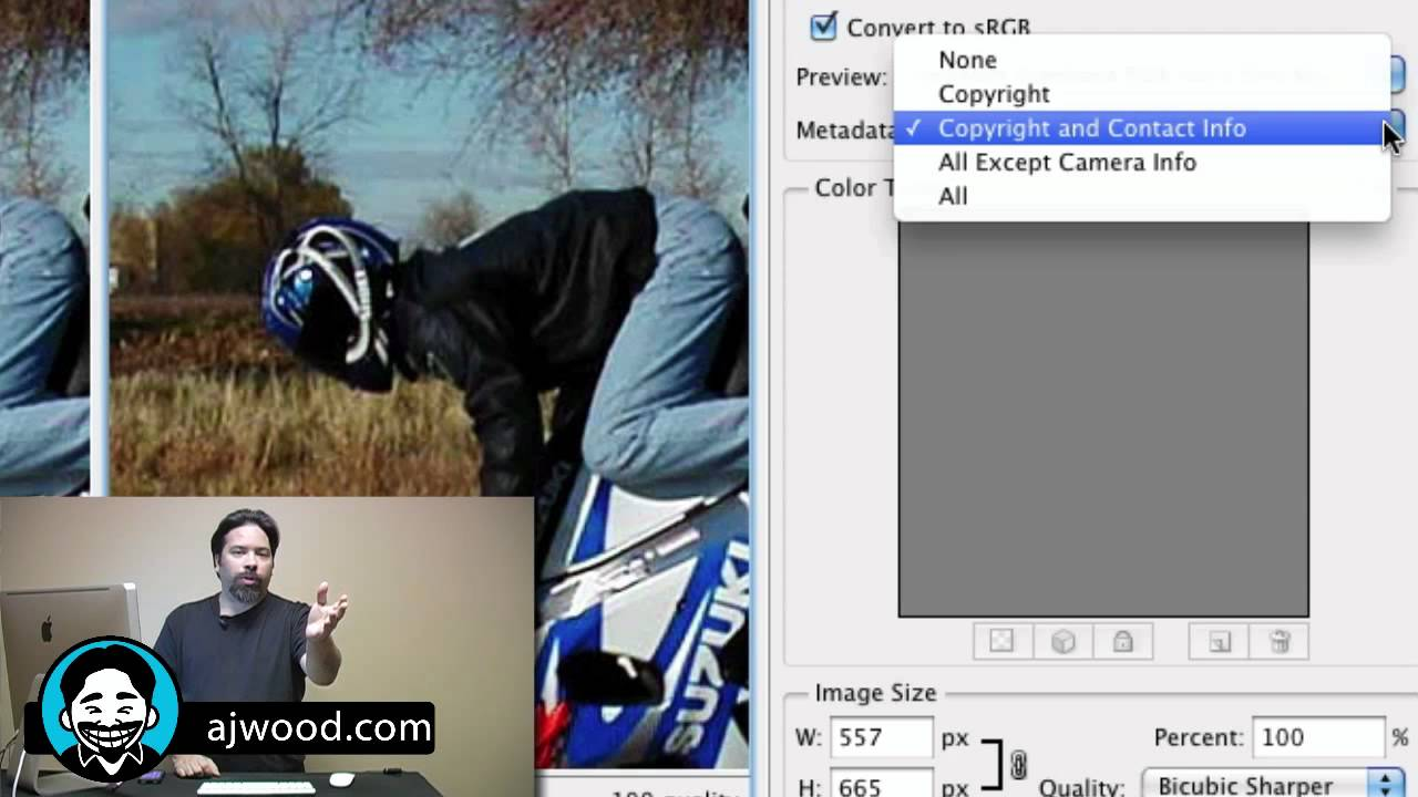 Using Photoshop for Search Engine Optimization of Images