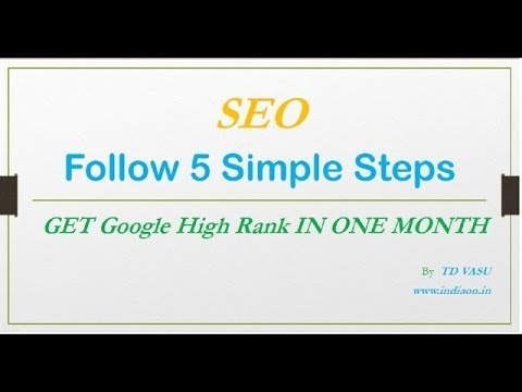 how to implement seo || seo optimization || how to do SEO