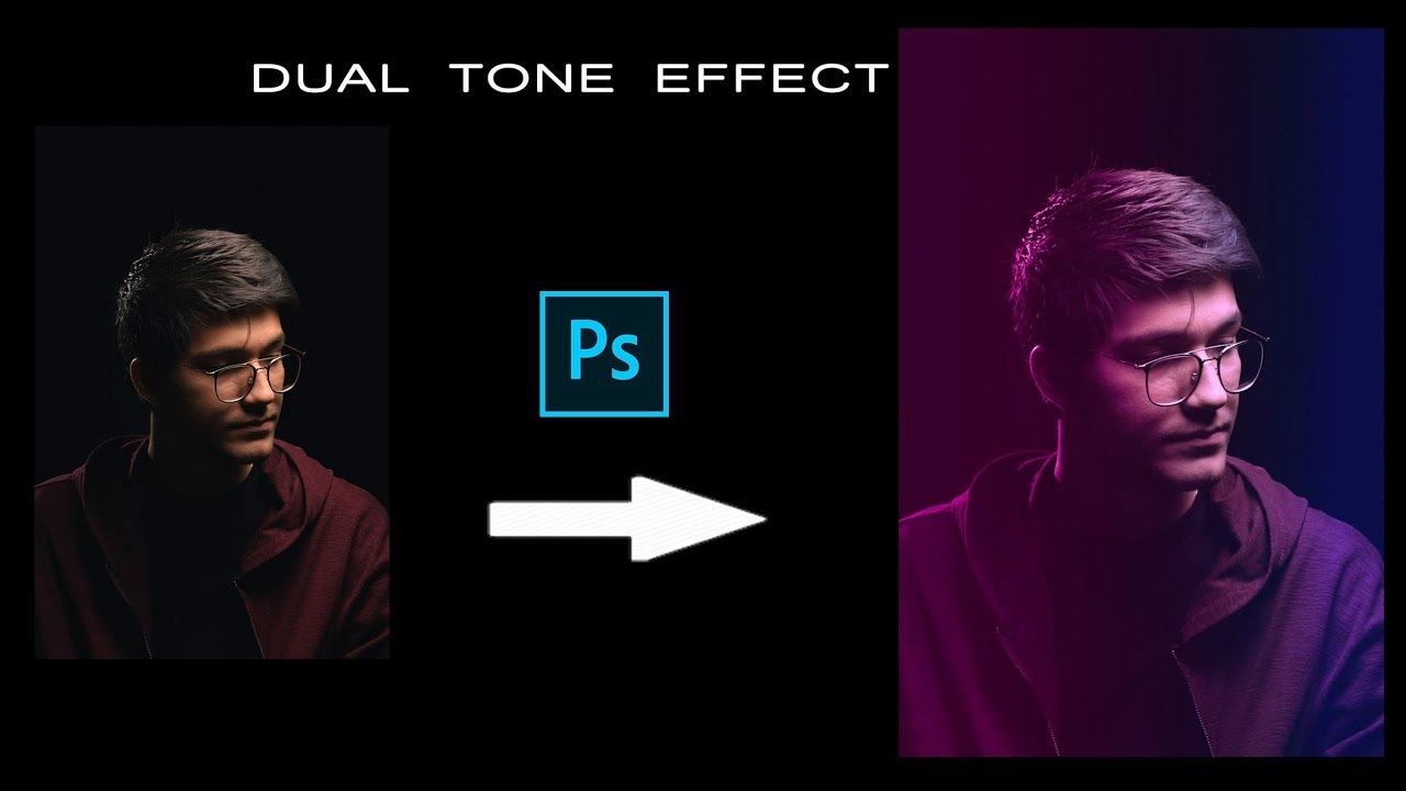 Dual tone effect in Photoshop cc - Photoshop tutorial