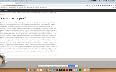 Do It Yourself – Tutorials – How To Build Your Own Sidebar In Squarespace