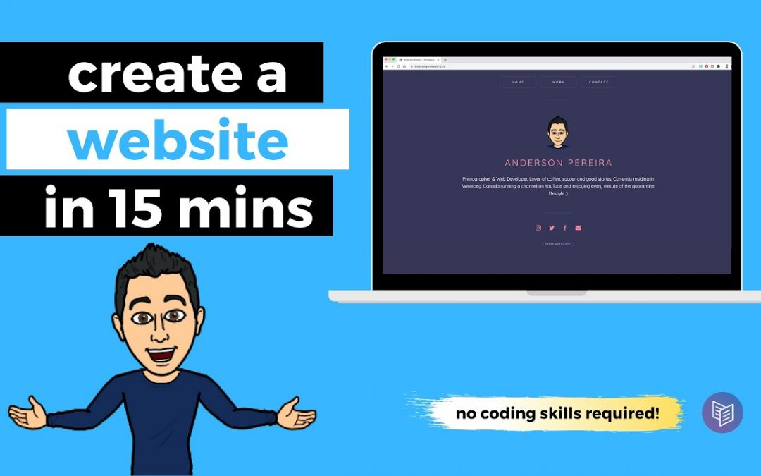 How to Create a Website in 15 mins - CARRD Tutorial
