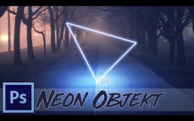 Photoshop Tutorial: Leuchtendes Neon Objekt in Foto einfügen