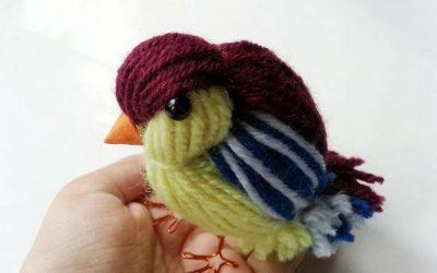Do It Yourself – Tutorials – How To Create A Cute Yarn Bird – DIY Crafts Tutorial – Guidecentral