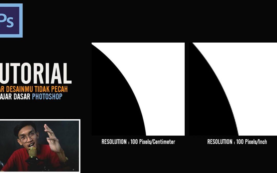 TUTORIAL DESAIN TIDAK PECAH | AGAR DESAINMU HD/TIDAK PECAH ...