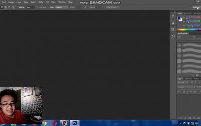 Tutorial Cara Memberikan Effect Watermark di Adobe Photoshop