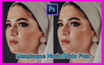 cara menghilangkan noda pada foto menggunakan Adobe Photoshop | edit cepat ~tutorial editing foto #3