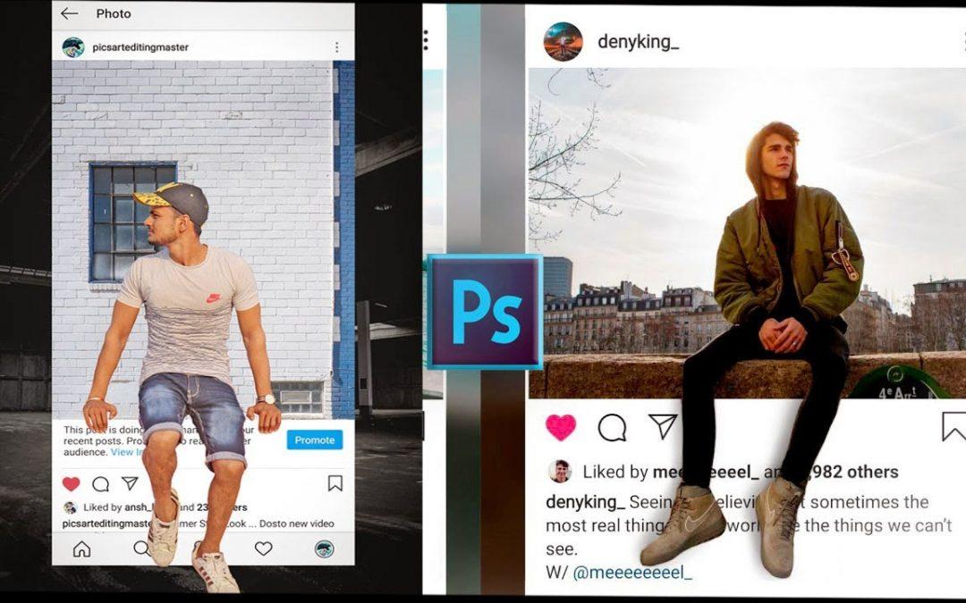 Adobe Photoshop 3D Instagram Viral Photo Editing Tutorial 2020 Best Photo Editing 2020  Smart Editor