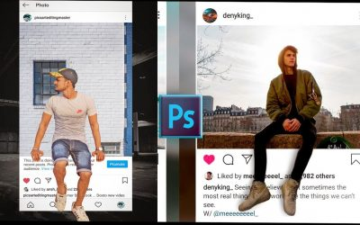 Adobe Photoshop 3D Instagram Viral Photo Editing Tutorial 2020|Best Photo Editing 2020| Smart Editor