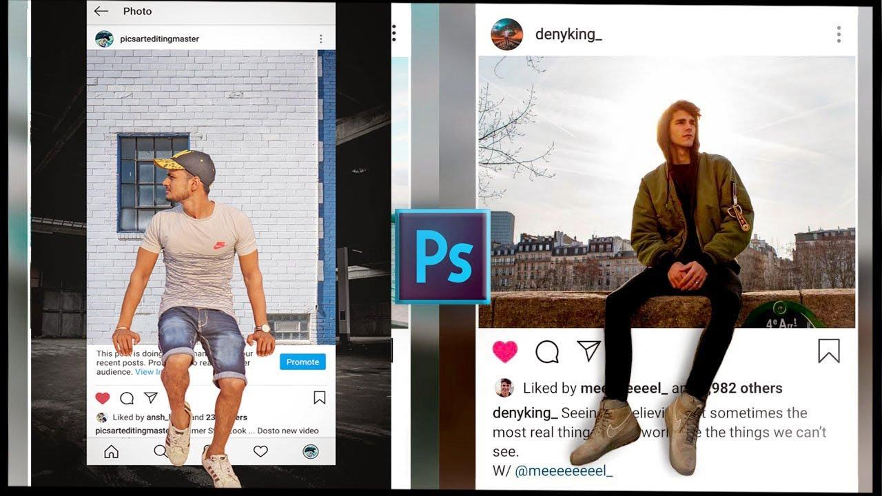 Adobe Photoshop 3D Instagram Viral Photo Editing Tutorial 2020|Best Photo Editing 2020| Smart Editor