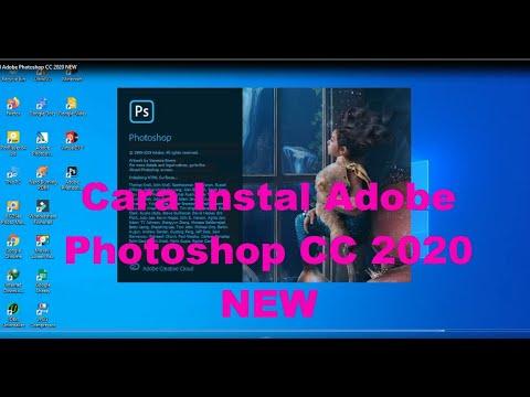 Cara Instal Adobe Photoshop CC 2020 NEW