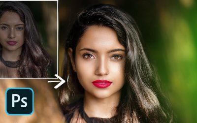 Photoshop CC Tutorial : Outdoor Portrait Editing in Photoshop (Girl 🔻 ) I Free Preset