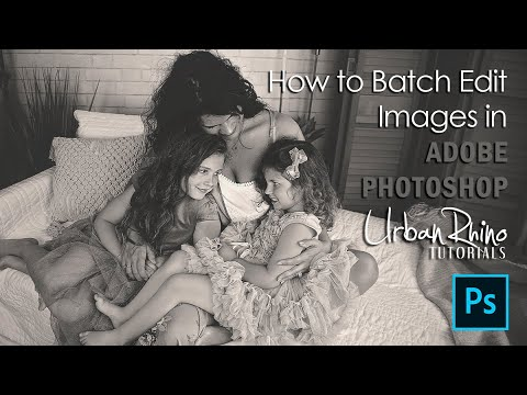 How to Batch Edit Images in Adobe Photoshop