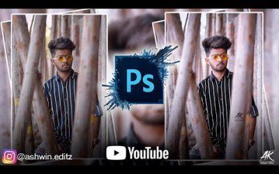 Adobe Photoshop CS3 Photo Editing  Photo Editing Tutorial   Ashwin Editz