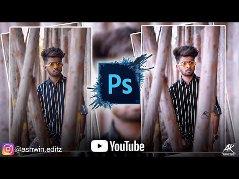 Adobe Photoshop CS3 Photo Editing| Photo Editing Tutorial | Ashwin Editz