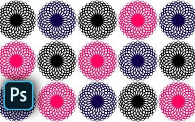 Spiral graphic design in adobe Photoshop CC 2019 – Spiral circle new design    WebPostar