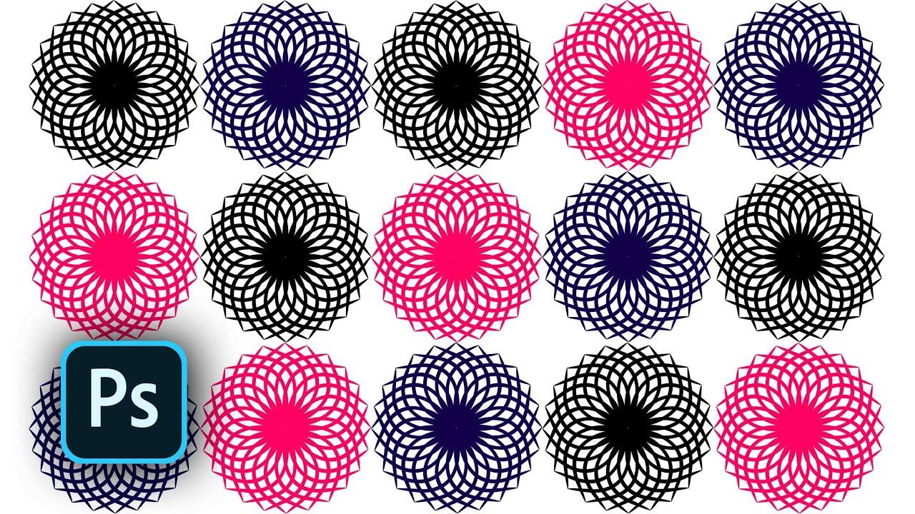 Spiral graphic design in adobe Photoshop CC 2019 - Spiral circle new design  | WebPostar