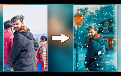 Snowfall Editing In Photoshop    latest Adobe Photoshop Tutorial 2020