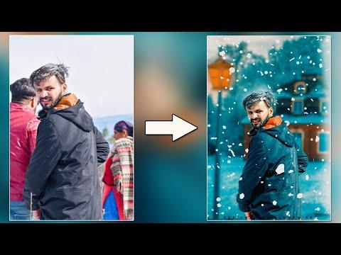 Snowfall Editing In Photoshop || latest Adobe Photoshop Tutorial 2020