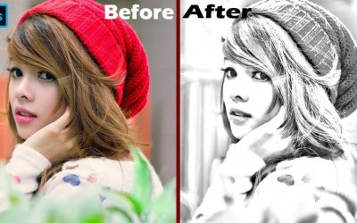 photoshop tutorial- How to Transform photos into Gorgeous, Pencil drawing