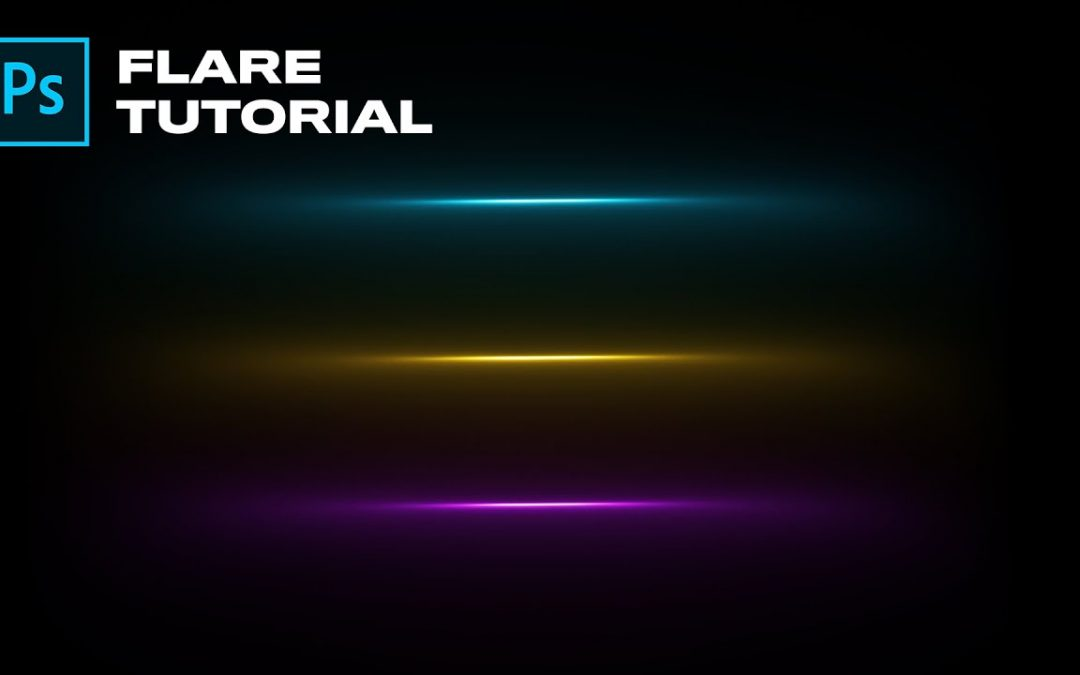 Create a Flare from Scratch in Photoshop! | Adobe Photoshop Tutorial