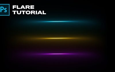 Create a Flare from Scratch in Photoshop!   Adobe Photoshop Tutorial
