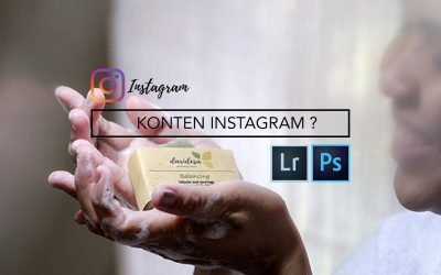 Trik Membuat Foto Konten Instagram Menarik (Tutorial Photo Editing Adobe Lightroom + Photoshop)