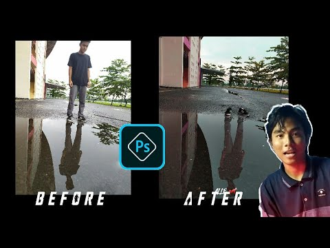Tutorial cara menghilangkan objek - Adobe Photoshop
