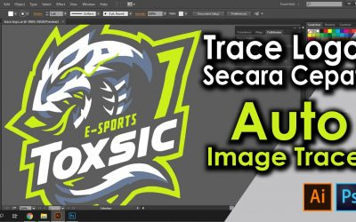 Vector / Trace Logo atau gambar – Adobe Illustrator Tutorial & Photoshop