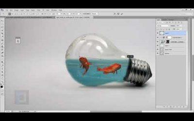 Adobe Photoshop Tutorial Photo Manipulation Water Splash in Bulb Video 12 May 2020