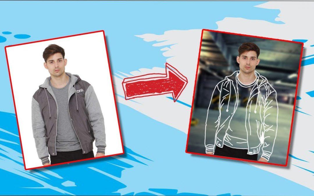 Tutorial edit baju menjadi Transparant – Adobe Photoshop