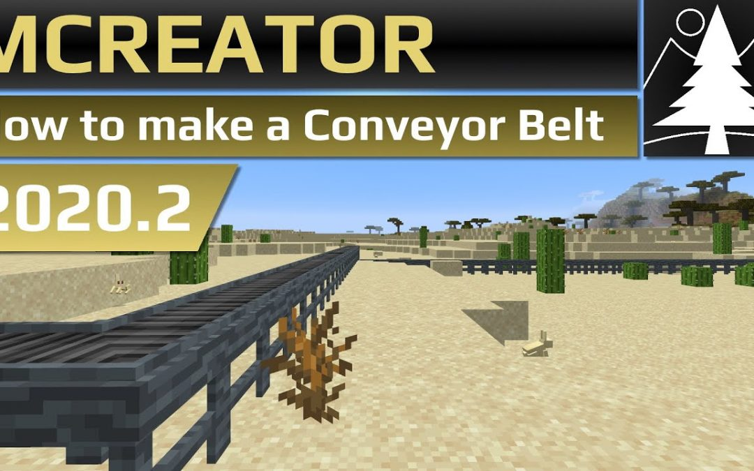 MCreator Tutorial: How to make a Conveyor Belt | 2020.2