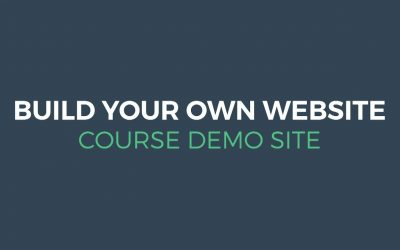 Do It Yourself – Tutorials – Build Your Own Website – Course Demo Site | Digital Hatch
