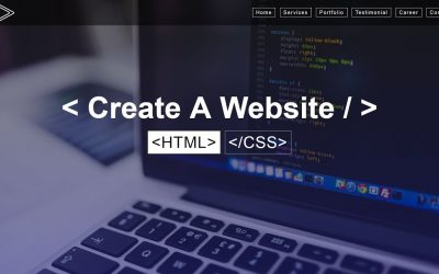 Do It Yourself – Tutorials – How To Create A Website Using HTML & CSS Step by Step Website Tutorial