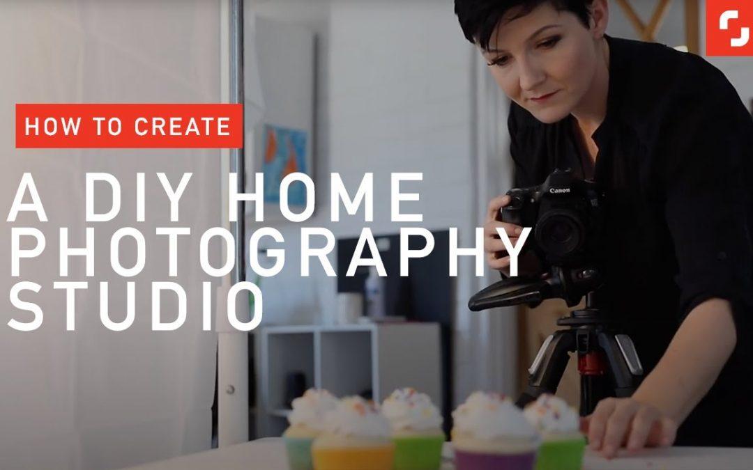 How to Create a Home Photography Studio | DIY Photo Tips with Photographer Joanie Simon